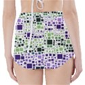 Block On Block, Purple High-Waisted Bikini Bottoms View2
