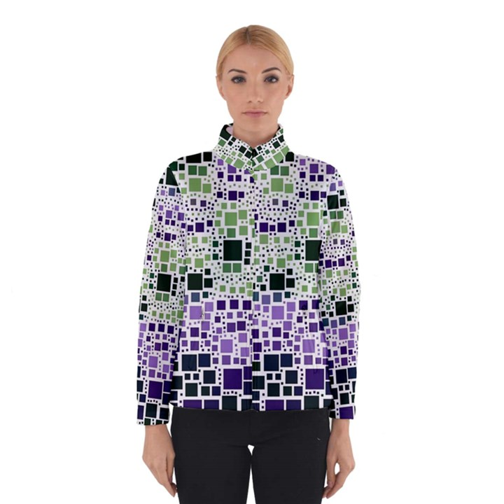 Block On Block, Purple Winterwear