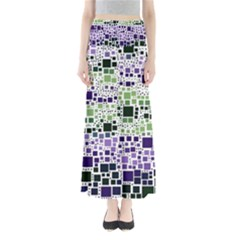 Block On Block, Purple Maxi Skirts by MoreColorsinLife