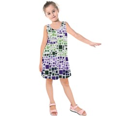 Block On Block, Purple Kids  Sleeveless Dress by MoreColorsinLife