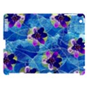 Purple Flowers Apple iPad 3/4 Hardshell Case (Compatible with Smart Cover) View1