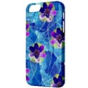 Purple Flowers Apple iPhone 5 Classic Hardshell Case View3