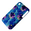 Purple Flowers Apple iPhone 3G/3GS Hardshell Case (PC+Silicone) View4