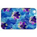 Purple Flowers Samsung Galaxy Tab 3 (8 ) T3100 Hardshell Case  View1