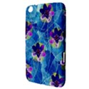 Purple Flowers Samsung Galaxy Tab 3 (8 ) T3100 Hardshell Case  View3