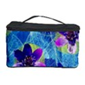 Purple Flowers Cosmetic Storage Case View1