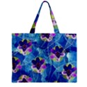 Purple Flowers Zipper Mini Tote Bag View2