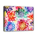 Colorful Succulents Canvas 10  x 8  View1