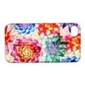 Colorful Succulents Apple iPhone 4/4S Hardshell Case with Stand View1