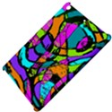 Abstract Sketch Art Squiggly Loops Multicolored Apple iPad Mini Hardshell Case View4