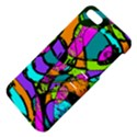 Abstract Sketch Art Squiggly Loops Multicolored Apple iPhone 5 Hardshell Case with Stand View4