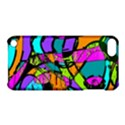 Abstract Sketch Art Squiggly Loops Multicolored Apple iPod Touch 5 Hardshell Case with Stand View1