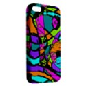 Abstract Sketch Art Squiggly Loops Multicolored Apple iPhone 5 Premium Hardshell Case View2