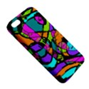 Abstract Sketch Art Squiggly Loops Multicolored Apple iPhone 5 Premium Hardshell Case View5