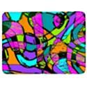 Abstract Sketch Art Squiggly Loops Multicolored Samsung Galaxy Tab 7  P1000 Flip Case View1