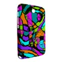 Abstract Sketch Art Squiggly Loops Multicolored Samsung Galaxy Note 8.0 N5100 Hardshell Case  View2