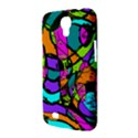 Abstract Sketch Art Squiggly Loops Multicolored Samsung Galaxy Mega 6.3  I9200 Hardshell Case View3