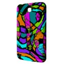 Abstract Sketch Art Squiggly Loops Multicolored Samsung Galaxy Tab 3 (7 ) P3200 Hardshell Case  View3