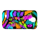 Abstract Sketch Art Squiggly Loops Multicolored Samsung Galaxy S4 Classic Hardshell Case (PC+Silicone) View1