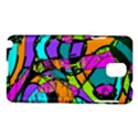 Abstract Sketch Art Squiggly Loops Multicolored Samsung Galaxy Note 3 N9005 Hardshell Case View1