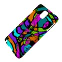 Abstract Sketch Art Squiggly Loops Multicolored Samsung Galaxy Note 3 N9005 Hardshell Case View4