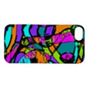 Abstract Sketch Art Squiggly Loops Multicolored Apple iPhone 5S/ SE Hardshell Case View1