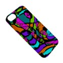 Abstract Sketch Art Squiggly Loops Multicolored Apple iPhone 5S/ SE Hardshell Case View5
