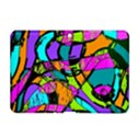 Abstract Sketch Art Squiggly Loops Multicolored Samsung Galaxy Tab 2 (10.1 ) P5100 Hardshell Case  View1