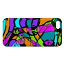 Abstract Sketch Art Squiggly Loops Multicolored iPhone 5S/ SE Premium Hardshell Case View1