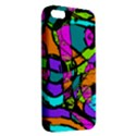 Abstract Sketch Art Squiggly Loops Multicolored iPhone 5S/ SE Premium Hardshell Case View2