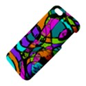 Abstract Sketch Art Squiggly Loops Multicolored iPhone 5S/ SE Premium Hardshell Case View4