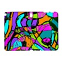 Abstract Sketch Art Squiggly Loops Multicolored Samsung Galaxy Note 10.1 (P600) Hardshell Case View1