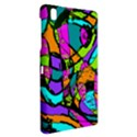 Abstract Sketch Art Squiggly Loops Multicolored Samsung Galaxy Tab Pro 8.4 Hardshell Case View2
