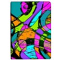 Abstract Sketch Art Squiggly Loops Multicolored iPad Air Flip View1