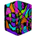Abstract Sketch Art Squiggly Loops Multicolored iPad Air Flip View3