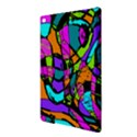 Abstract Sketch Art Squiggly Loops Multicolored iPad Air 2 Hardshell Cases View3