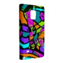 Abstract Sketch Art Squiggly Loops Multicolored Galaxy Note Edge View3