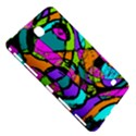 Abstract Sketch Art Squiggly Loops Multicolored Samsung Galaxy Tab 4 (7 ) Hardshell Case  View5