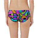 Abstract Sketch Art Squiggly Loops Multicolored Classic Bikini Bottoms View2
