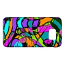 Abstract Sketch Art Squiggly Loops Multicolored Galaxy S6 View1