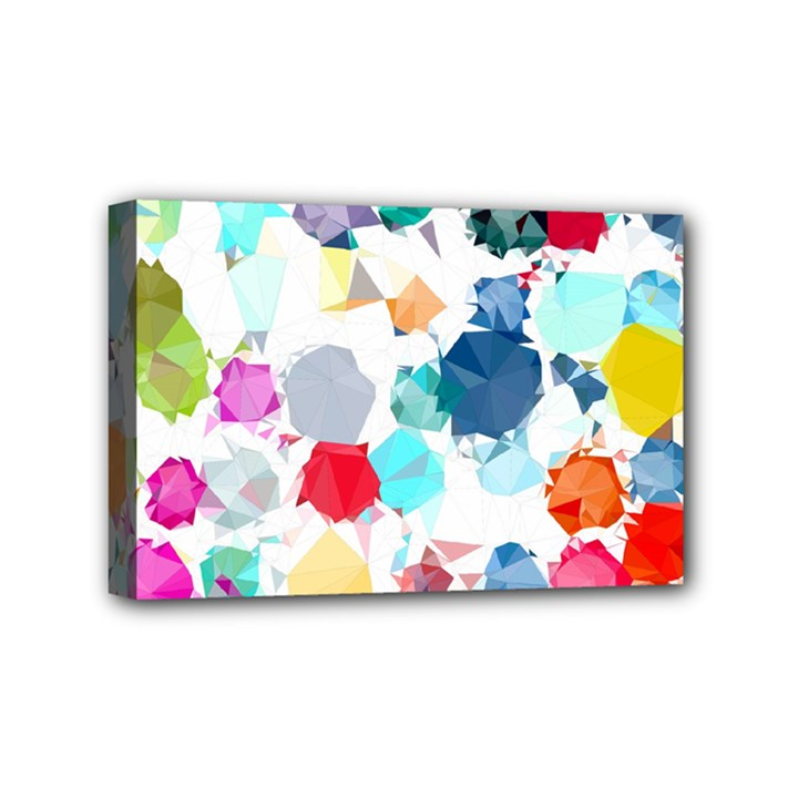 Colorful Diamonds Dream Mini Canvas 6  x 4