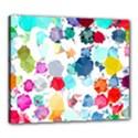 Colorful Diamonds Dream Canvas 24  x 20  View1