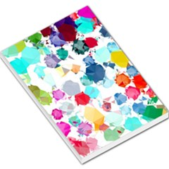 Colorful Diamonds Dream Large Memo Pads by DanaeStudio