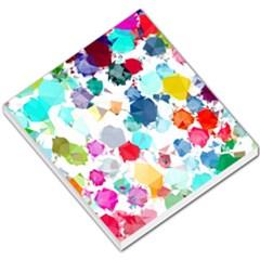 Colorful Diamonds Dream Small Memo Pads by DanaeStudio