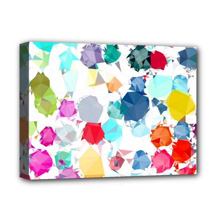 Colorful Diamonds Dream Deluxe Canvas 16  x 12
