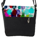 Colorful Diamonds Dream Flap Messenger Bag (S) View1