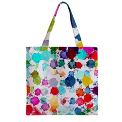 Colorful Diamonds Dream Grocery Tote Bag by DanaeStudio