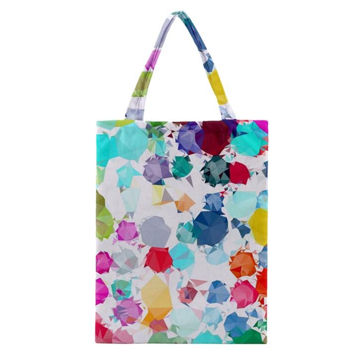 Colorful Diamonds Dream Classic Tote Bag
