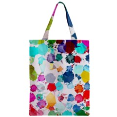 Colorful Diamonds Dream Zipper Classic Tote Bag by DanaeStudio