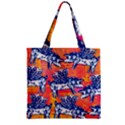 Little Flying Pigs Zipper Grocery Tote Bag View1
